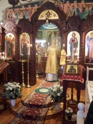 Divine Liturgy at the Resurrection of Christ Parish, Brussels