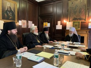 Bishop Irenei Participates in the Winter Meeting of the Holy Synod of Bishops | Отчет о заседании Архиерейского Синода