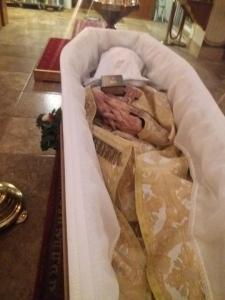 Report on the Funeral of Archpriest Thomas Hardy