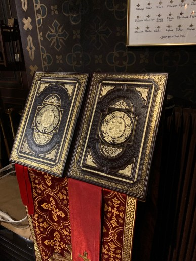 The two Bishops' service books