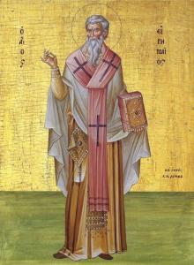 """Bishop Irenei to speak on """"Truth in the Face of Heresy: Spiritual Life in the Witness of St Irenaeus of Lyons"""" at Study Weekend in Poole, England"""