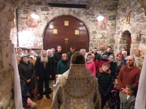 The Entry of Christ is marked in Stradbally, Ireland, by the first pastoral visit of Bishop Irenei | В праздник Сретения Господня в Страдбалли, Ирландия, состоялся первый Архипастырский визит епископа Иринея