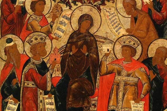 Friday Evening of the Fifth Week of Great Lent – The Akathist Hymn to the Theotokos: Materials for Prayer at Home in Cases Where Church Attendance is Not Possible Due to the Coronavirus | Пятница пятой недели Великого поста – Акафист пресвятой Богородицы: тексты в случае, когда посещение храма невозможно из-за коронавируса
