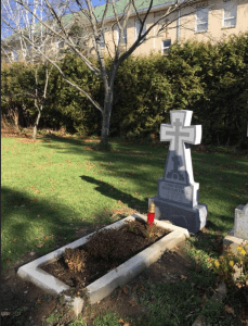 Bishop Constantine's Grave Blessed in Jordanville