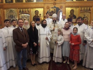 Ascension is Celebrated in London, and the Diocese Celebrates the Ordination of a New Deacon
