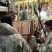 Ewangelię wg św. Mateusza czyta JE Arcybiskup Abel