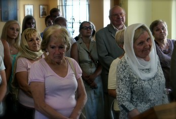 Licznie zebrani puławscy wierni i zaproszeni goście