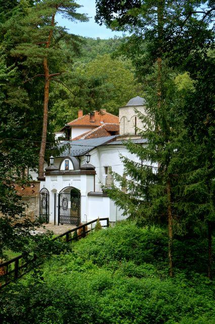 Monaster Święty Roman w Serbii