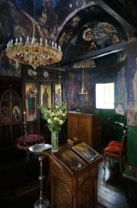Południowa nawa cerkwi monasteru Święty Roman w Serbii