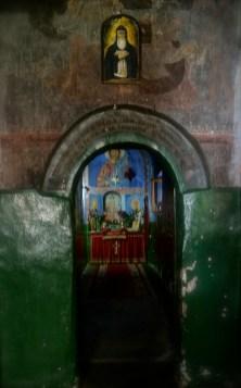 Krypta, gdzie znajdują się relikwie świętego Romana