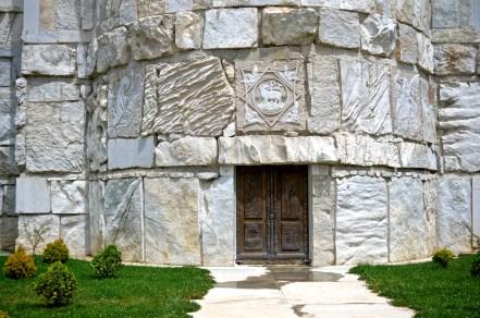 Południowy portal cerkwi