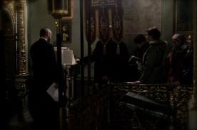 Chórem katedry pw. Przemienienia Pańskiego w Lublinie dyryguje kantor Andrzej Boublej