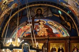 Freski w absydzie cerkwi Świętej Trójcy