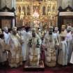 Boska Liturgia na Przemienienie Pańskie w lubelskiej katedrze odprawiana pod przewodnictwem metropolity Mitrofana, metropolity Aleksandra i władyki Abla
