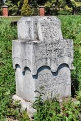 Nagrobki na cmentarzu prawosławnym w Terebiniu