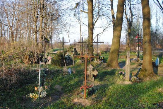 Cmentarz prawosławny - Gołębie