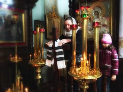 Zmiana wystroju cerkwi - Wieczernia Niedzieli Przebaczenia Win w lubelskiej katedrze