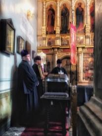 Duchowieństwo lubelskiej katedry - Wieczernia Niedzieli Przebaczenia Win