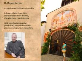 "Ojciec Bojan Saryev i ""monaster"" w Kyrdzali"