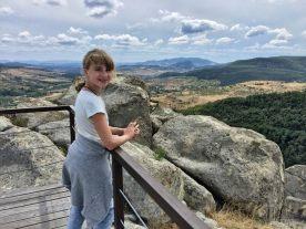 Madzia i panorama z Perperikonu