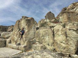 Kamen na tronie władcy w Perperikon