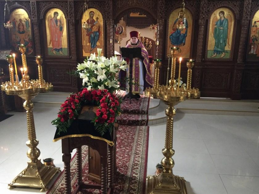 Piękne kazanie głosi ks. Paweł Janiel