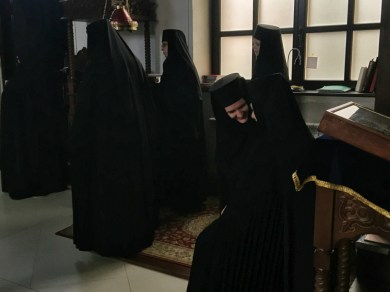 Po zakończeniu Boskiej Liturgii w Turkowicach