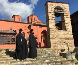 WŁADYAK ABEL I OJCIEC PAWEŁ W MONASTERZE XENOFONTOS