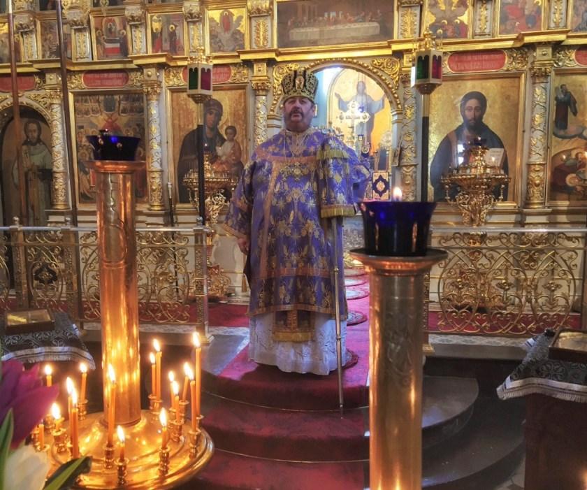 Kazanie na piątą niedzielę głosi Władyka Abel