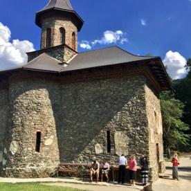 Główna cerkiew żeńskiego monasteru Prislop