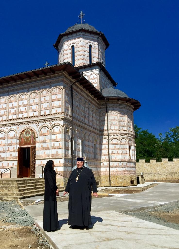 Monasterska cerkiew pw. Świętych Archaniołów Michała i Gabriela w monasterze w Turda