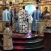 Ewangelię na Uspienije czyta ks. protodiakon Marek Waszczuk