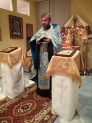 Ks. Tomasz Łotycz - proboszcz parafii prawosławnej w Horostycie