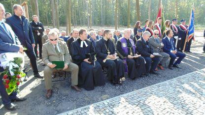 Otwarcie cmentarza - Gmina Łaziska 2017 1