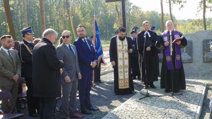 Otwarcie cmentarza - Gmina Łaziska 2017 2
