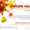 Wieczór kolęd wschodniosłowiańskich w Lublinie 2018 - plakat
