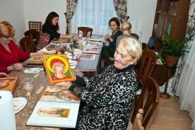 Pisanie ikon w Sandomierzu 3 2018