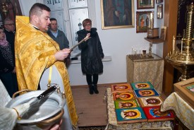 Pisanie ikon w Sandomierzu 6 2018