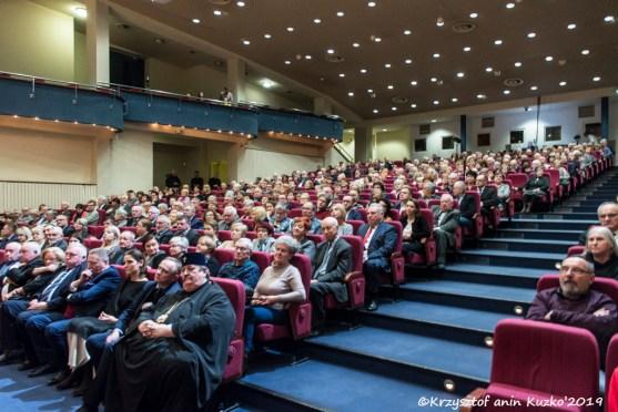 Niemal komplet publiczności w sali Centrum Kongresowego UP w Lublinie