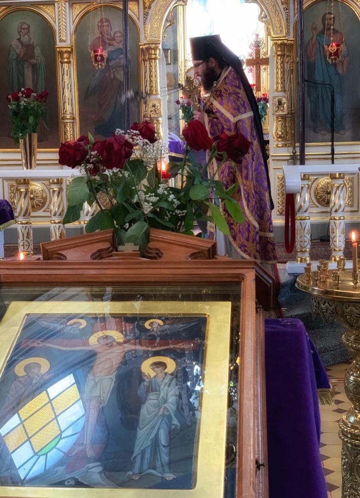 Boska Liturgia w monasterze w Jabłecznej