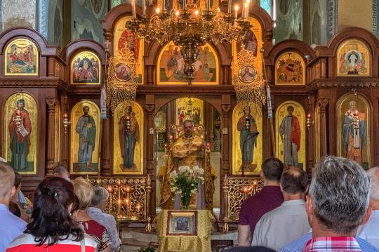 Boska Liturgia w cerkwi św. św. Cyryla i Metodego w Białej Podlaskiej