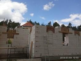 Budowa nowej monasterskiej cerkwi w Turkowicach