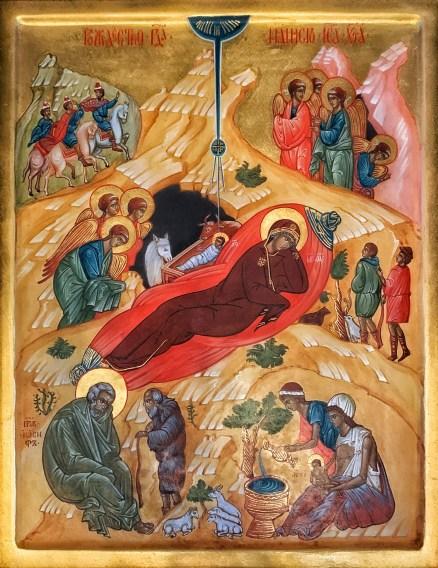 Ikona Bożego Narodzenia w lubelskiej katedrze prawosławnej