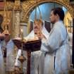 Ewangelię wg św. Marka czyta JE Abp Abel