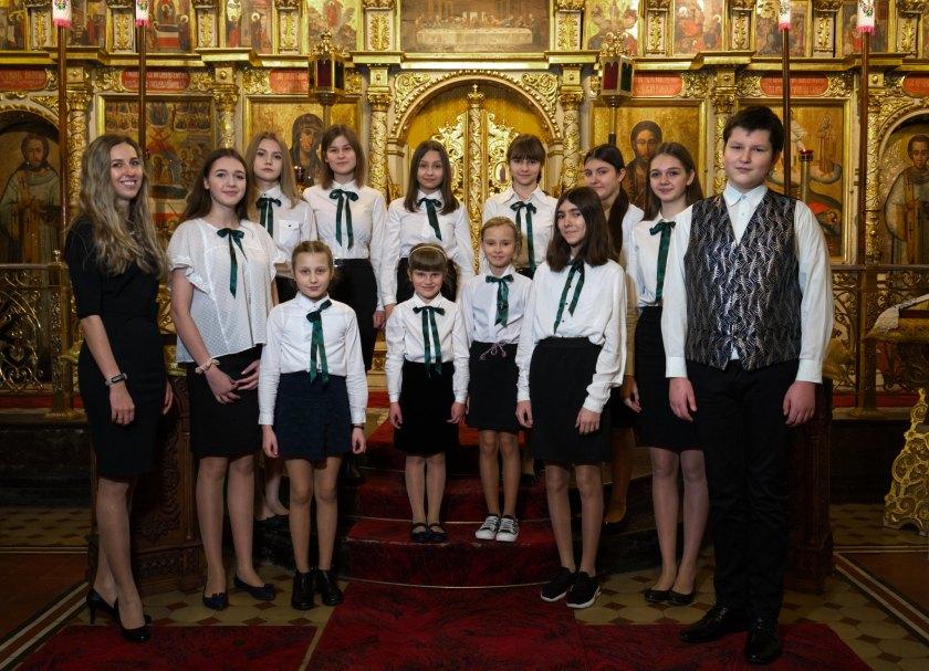 Chór Dziecięco-Młodzieżowy Prawosławnej Katedry Przemienienia Pańskiego w Lublinie