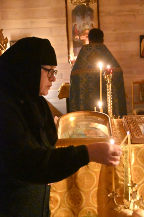 Święto Spotkania Pańskiego w Żeńskim Domu Zakonnym św.Mikołaja Cudotwórcy w Holeszowie