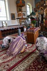 Święto Adoracji Krzyża Świętego w cerkwi w Zabłociu