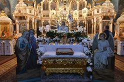 Paschalnego nabożeństwa w monasterze św. Onufrego w Jabłecznej