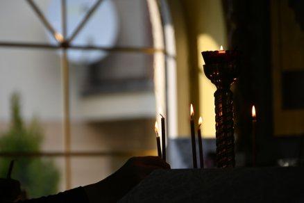 Wieczernia w cerkwi św. równej Apostołom Marii Magdaleny w Puławach