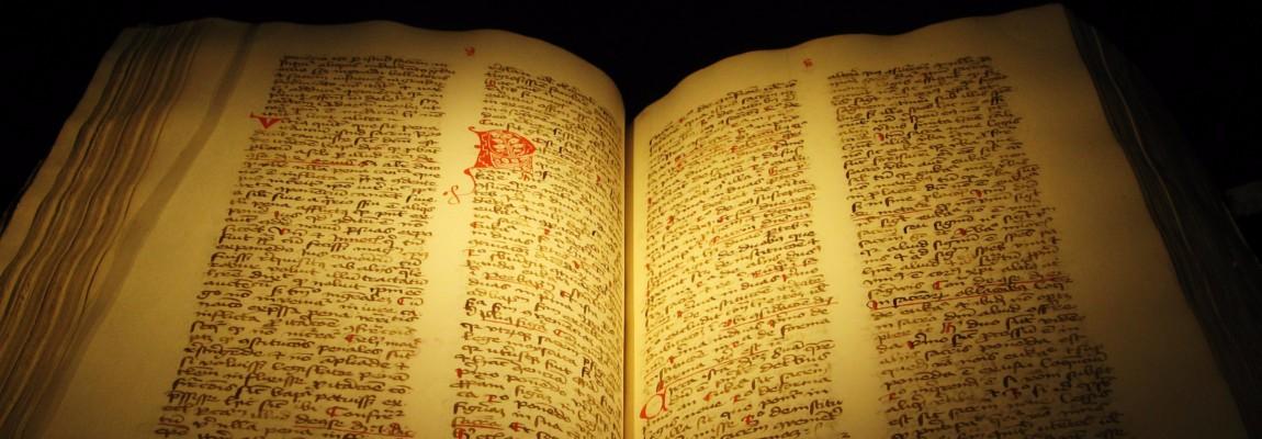 Old Gospel book